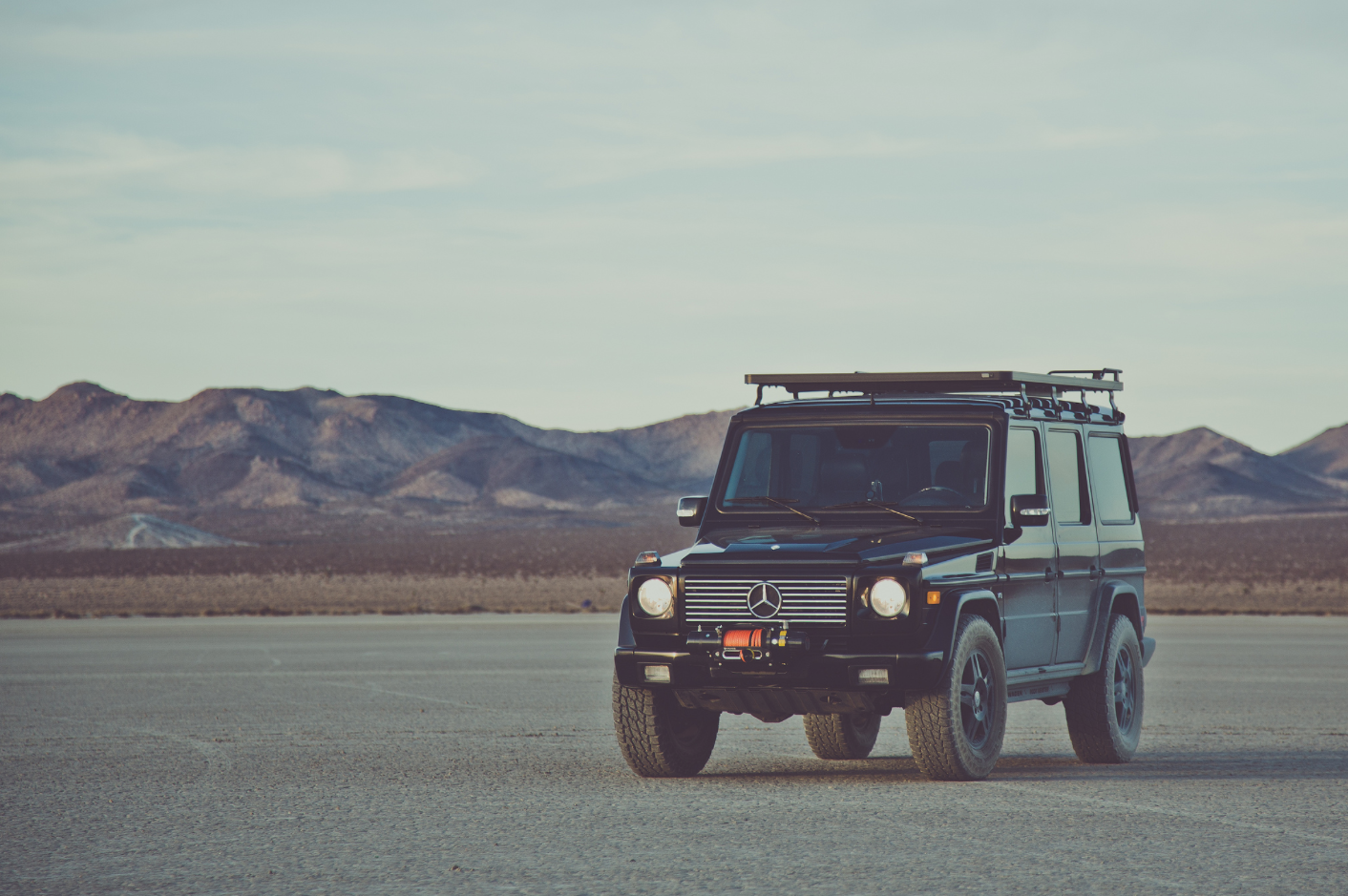 G Wagon  Viking Off roading  - Auto Commercial Photography